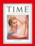 Lisa Fonssagrives on the cover of Time (United States) - September 1949