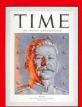Joseph Stalin on the cover of Time (United States) - July 1950
