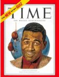 Sugar Ray Robinson on the cover of Time (United States) - June 1951