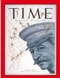 Joseph Stalin on the cover of Time (United States) - March 1953