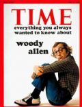 Woody Allen on the cover of Time (United States) - July 1972
