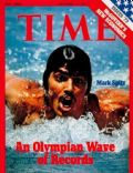 Mark Spitz on the cover of Time (United States) - September 1972