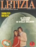 Max Delys, Simona Pelei on the cover of Letizia (Italy) - December 1978