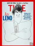 Jay Leno on the cover of Time (United States) - March 1992