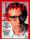 Woody Allen on the cover of Time (United States) - August 1992