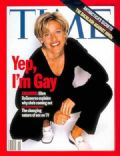 Ellen DeGeneres on the cover of Time (United States) - April 1997
