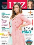 Lola Ponce on the cover of Luz (Argentina) - July 2014