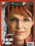 Sarah Palin on the cover of Time (United States) - September 2008