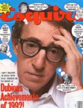 Woody Allen on the cover of Esquire (United States) - January 1993