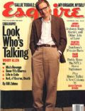 Woody Allen on the cover of Esquire (United States) - October 1994