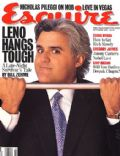 Jay Leno on the cover of Esquire (United States) - October 1995
