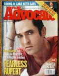 Rupert Everett on the cover of The Advocate (United States) - January 1998