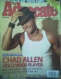 Chad Allen on the cover of The Advocate (United States) - August 2005
