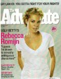 Rebecca Romijn on the cover of The Advocate (United States) - May 2007