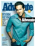 Ryan Reynolds on the cover of The Advocate (United States) - August 2007