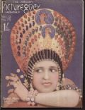 Carmel Myers on the cover of Picturegoer (United Kingdom) - January 1927