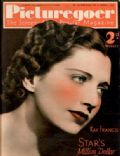 Kay Francis on the cover of Picturegoer (United Kingdom) - October 1937