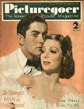Tyrone Power on the cover of Picturegoer (United Kingdom) - January 1938