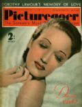 Dorothy Lamour on the cover of Picturegoer (United Kingdom) - July 1939