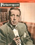 Humphrey Bogart on the cover of Picturegoer (United Kingdom) - February 1949