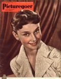 Audrey Hepburn on the cover of Picturegoer (United Kingdom) - May 1951
