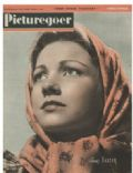 Anne Baxter on the cover of Picturegoer (United States) - August 1943