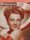 Anne Baxter on the cover of Picturegoer (United States) - June 1947