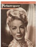 Betty Hutton on the cover of Picturegoer (United States) - October 1948