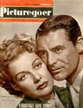 Ann Sheridan on the cover of Picturegoer (United States) - September 1949