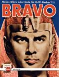 Yul Brynner on the cover of Bravo (Germany) - August 1957