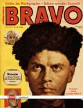 Yul Brynner on the cover of Bravo (Germany) - April 1958