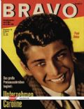 Paul Anka on the cover of Bravo (Germany) - February 1964