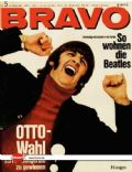Ringo Starr on the cover of Bravo (Germany) - January 1967