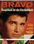 Michael Landon on the cover of Bravo (Germany) - July 1968
