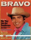 Michael Landon on the cover of Bravo (Germany) - October 1968