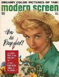 Janet Leigh on the cover of Modern Screen (United States) - September 1957