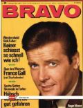 Roger Moore on the cover of Bravo (Germany) - December 1968