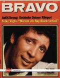 Tom Jones on the cover of Bravo (Germany) - December 1968