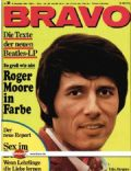 Udo Jurgens on the cover of Bravo (Germany) - December 1968