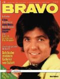 Chris Roberts on the cover of Bravo (Germany) - May 1971