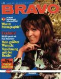 Manuela Kemp on the cover of Bravo (Germany) - May 1971