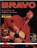 Neil Diamond on the cover of Bravo (Germany) - September 1972