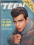 Fabian on the cover of Teen (United States) - September 1960