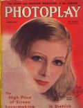 Greta Garbo on the cover of Photoplay (United States) - January 1933