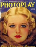 Earl Christy, Joan Bennett on the cover of Photoplay (United States) - February 1933
