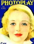 Bette Davis on the cover of Photoplay (United States) - June 1933