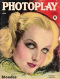 Carole Lombard on the cover of Photoplay (United States) - June 1934