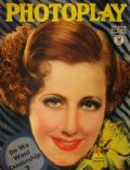 Irene Dunne on the cover of Photoplay (United States) - October 1934