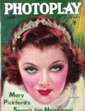 Earl Christy, Myrna Loy on the cover of Photoplay (United States) - February 1935