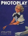 Jean Harlow on the cover of Photoplay (United States) - May 1935